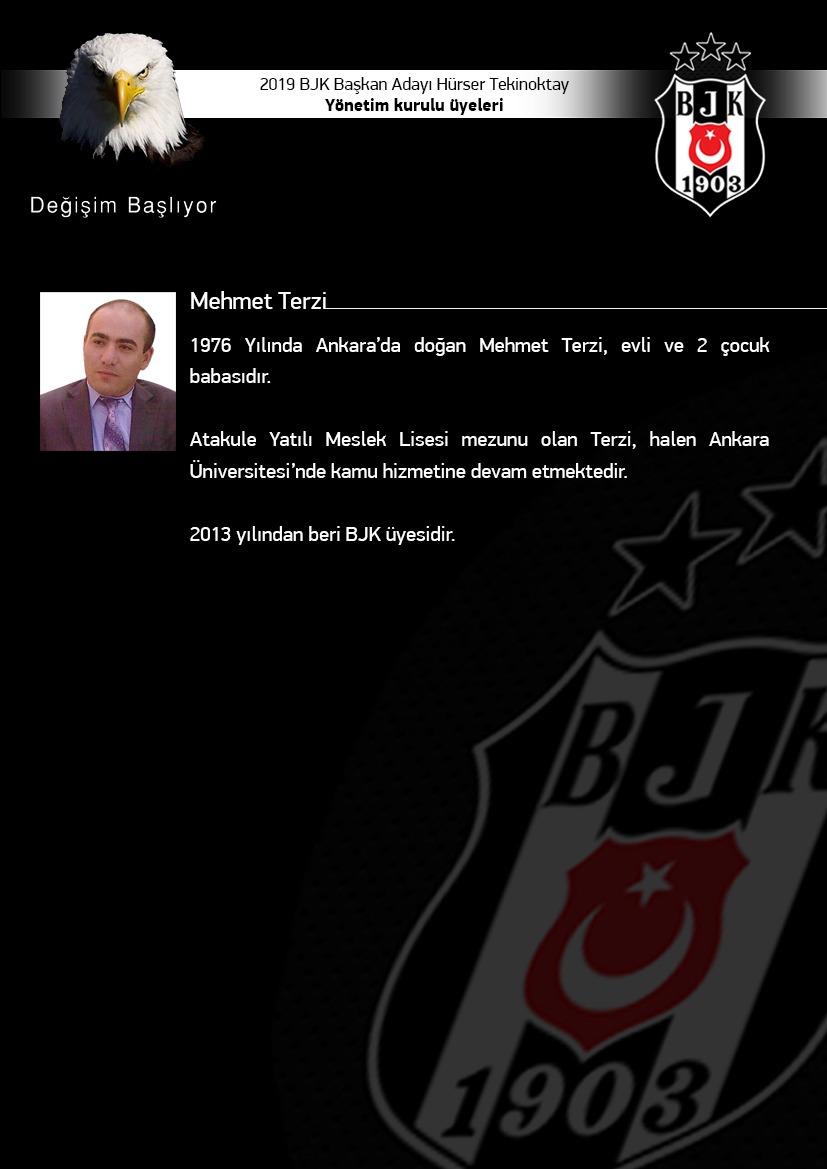 BJK Yönetim Kurulu Mehmet Terzi