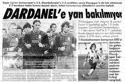 Dardanelspor'a Yan Bakılmıyor