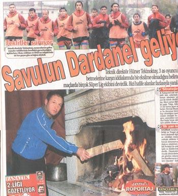 Savulun Dardanelspor Geliyor!